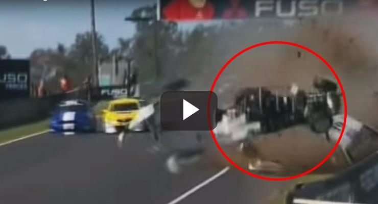 Brutal accidente en una carrera en Australia