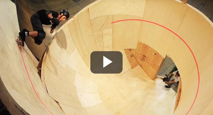 El loop horizontal de Tony Hawk